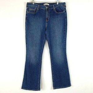 Levis 505 Jeans Size 31 Womens Bootleg Medium Wash